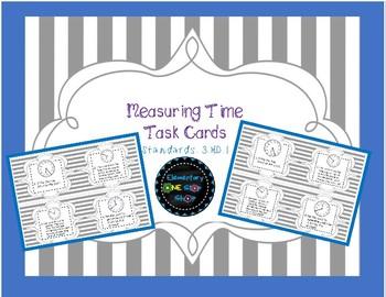 Measuring Time Task Cards