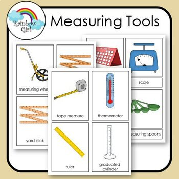 Measuring Tools Cards