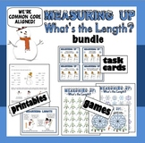 Measuring Up –customary & metric length games, task cards