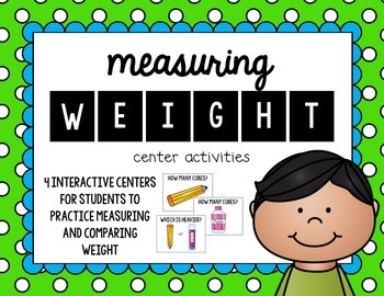 Measuring Weight Center Activities