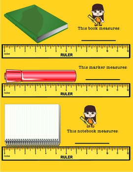 Measuring with a Ruler - Math Measuring