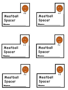 Meatball Spacers