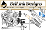 Mechanic Tools Clipart