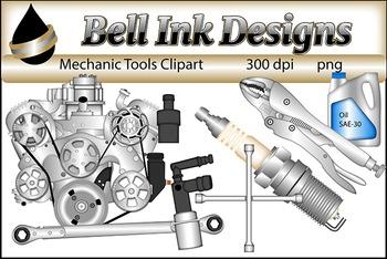 Mechanic Tools Clipart