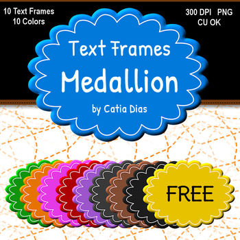 Medallion - Text Frames