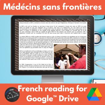 Médécins Sans Frontières - French reading - Google Drive edition