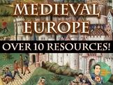 Medieval Europe Middle Ages Bundle Unit