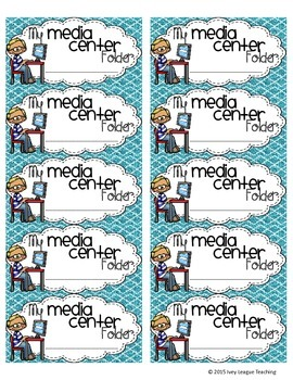 Media Center Folder Labels