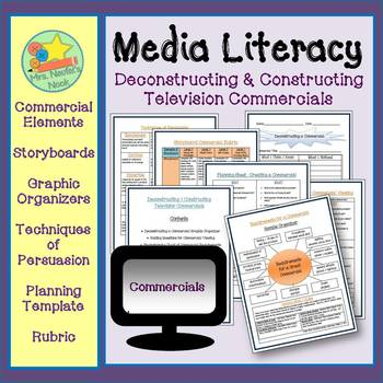 Media Literacy - Deconstructing and Constructing a Commercial