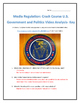 Media Regulation: Crash Course U.S. Government and Politic