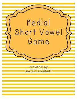Medial Short Vowel Board Game