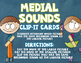 Medial Sounds Clip It Cards