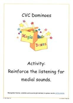 Medial Vowel Dominoes