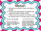 Median:  Task Cards and More For Finding the Median of a S