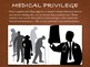 Medical Law Presentation ~ Privilege Malpractice Ethics Co