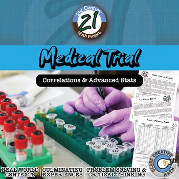 Medical Trial -- Statistics & T-Test Project