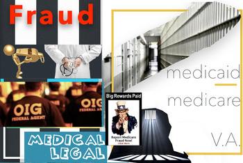 Medicare Medicaid VA Fraud ~ Medical Law ~ FREE POSTER