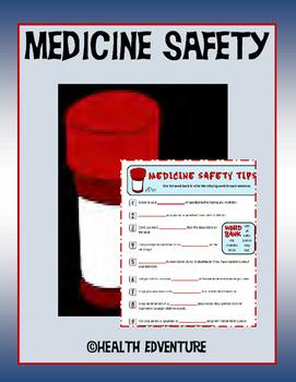 Medicine Safety: Word Work