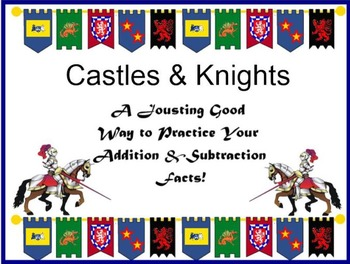 Medieval ADDITION and SUBTRACTION Card Game