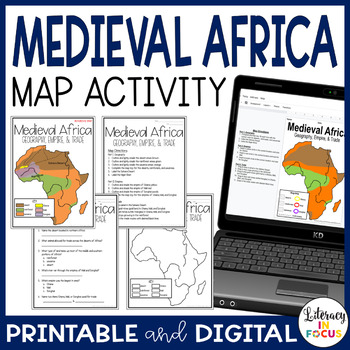 Medieval Africa Map Lesson & Assessment