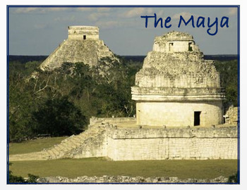 """Medieval America  """"The Maya - An Overview"""" + Quiz"""