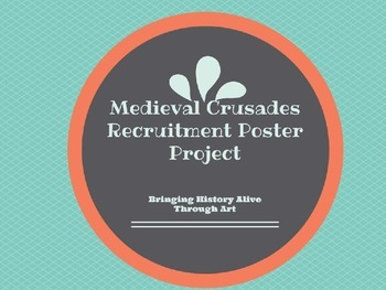 Medieval Crusades Recruitment Poster Project