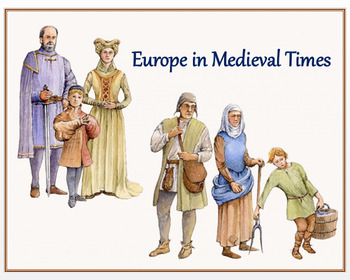 """""""Europe in Medieval Times"""" + TDQ Quiz"""