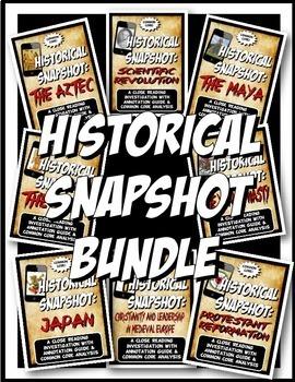 Medieval History Historical Snapshot Close Reading Investi