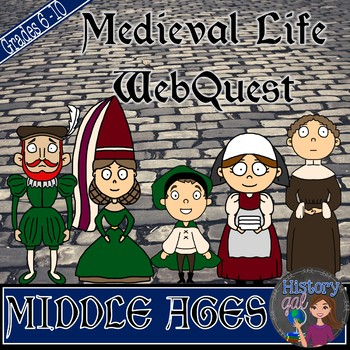 Medieval Life WebQuest {a fun Middle Ages activity!}
