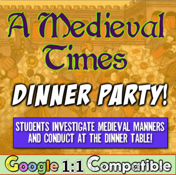 Middle Ages Manners: Students attend a Medieval Dinner Par