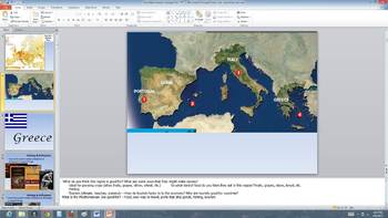 Mediterranean Europe-Greece, Italy, Spain Presentation