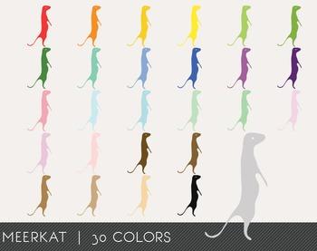 Meerkat Digital Clipart, Meerkat Graphics, Meerkat PNG