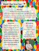 Eric Carle Meet The Teacher Template **Editable**