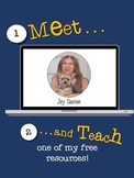 Meet and Teach FREE Resource - Use it Tomorrow!