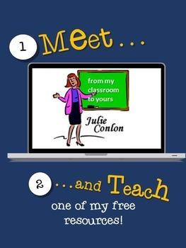 Meet and Teach: Julie Conlon's Formative Assessment Exit Slips