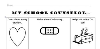 Meet the Counselor Worksheet
