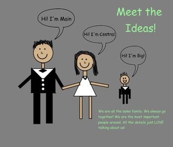 Meet the Idea Family- Main, Central, and Big