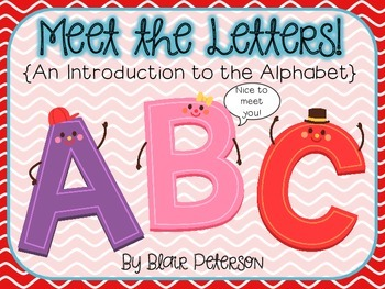 Meet the Letters {An Introduction to the Alphabet}