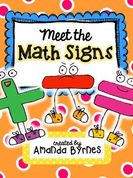 Meet the Math Signs (Addition and Subtraction) FREEBIE