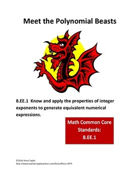 Meet the Polynomial Beasts! Simplify Polynomials Challenge