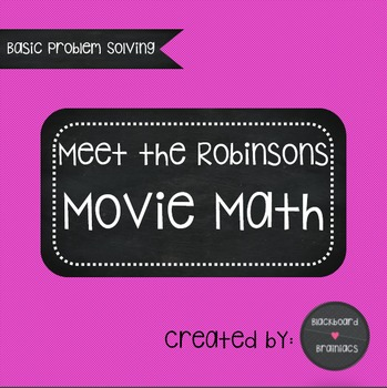 Meet the Robinsons Movie Math Problem Solving
