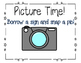 Meet the Teacher: Materials for 7 Stations--Printable Sign