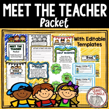 Back to School  Meet the Teacher Night