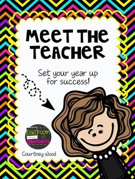 Meet the Teacher Pack - Editable