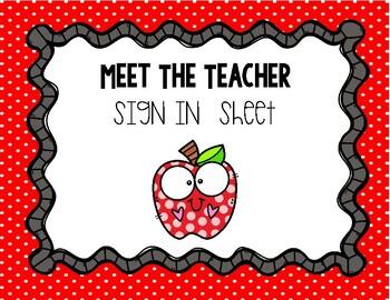 Meet the Teacher Sign In