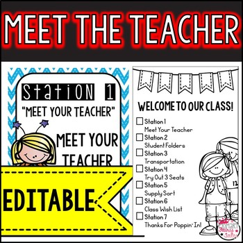 Meet the Teacher-Super Hero Themed