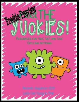 Meet the Yuckies Freebie (Resources for ew, ue, and oo Spe