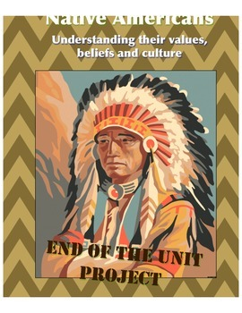 Meeting of Cultures Native American Problem Based Project