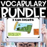 Vocabulary Mega Bundle Critical Tier 2 Academic Year-Long