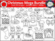 Mega Christmas Clipart Bundle - Over 100 images! For Perso
